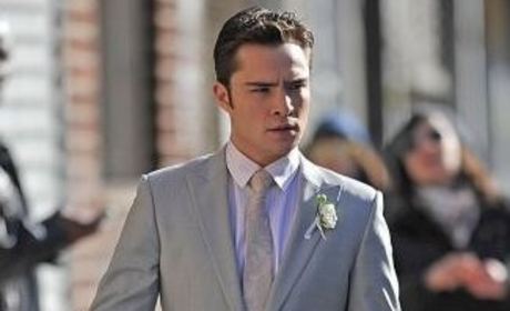 Chace Crawford & Ed Westwick: Double the On-Set Hotness