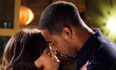 Grey's Anatomy First Kiss Alert: Bailey and Ben!