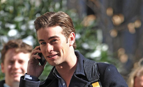Chace on the Phone