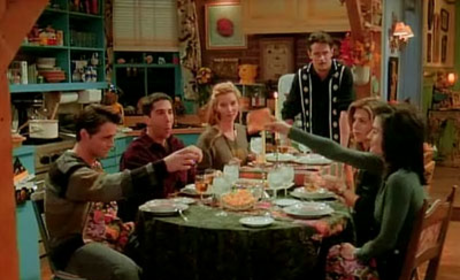 The Friends' First Thanksgiving