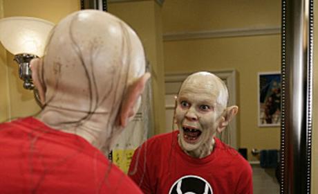 Sheldon as Gollum