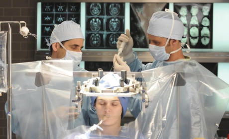 Taub and Chase Perform Brain Surgery