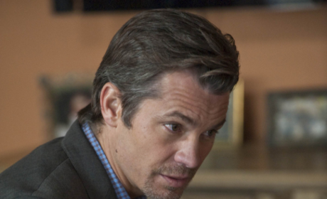 Raylan Givens Close Up