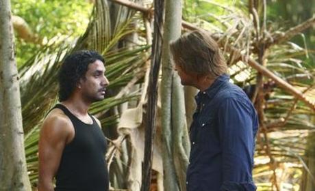 Sayid vs. Sawyer