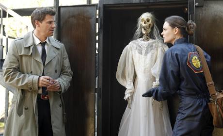 Skeleton at the Scene