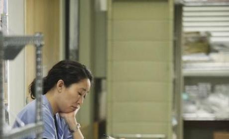 "Cristina a ""Sobbing Mess"" on Grey's Anatomy"