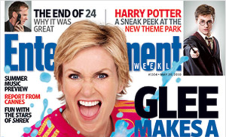 Jane Lynch on EW