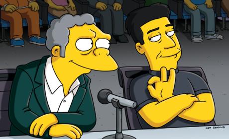 "The Simpsons Season Finale Review: ""Judge Me Tender"""