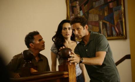 Marcos, Carmen and Hank