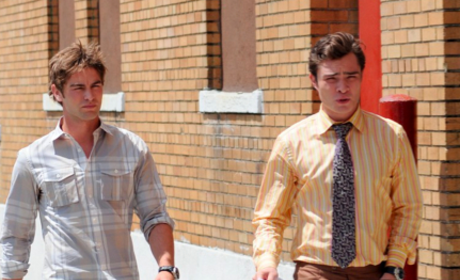 Gossip Girl Set Photos: Chace Crawford, Katie Cassidy & More!