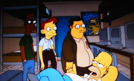 Homer Goes To College Pic