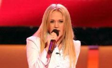 Carrie On American Idol