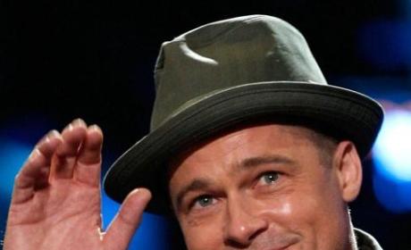 Brad Pitt Gives Back