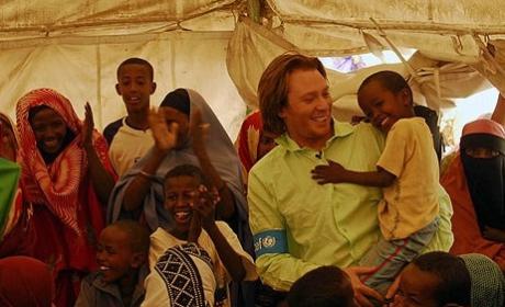 Clay Aiken is a UNICEF Ambassador, Blogger