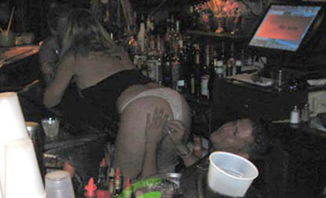 Vicky Gunvalson Gets a New Tattoo. On Her Ass. In a Bar.