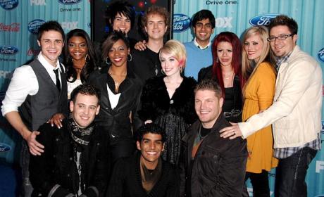 American Idol Finalists Dish on Wild Card Twist