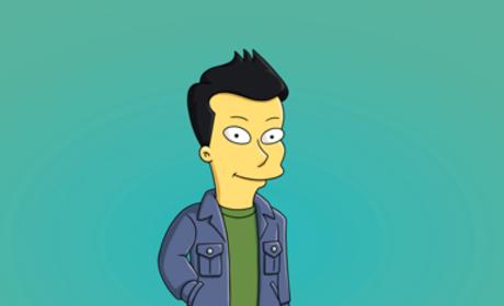 Animated Cory Monteith