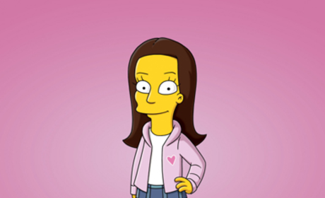 Animated Lea Michele