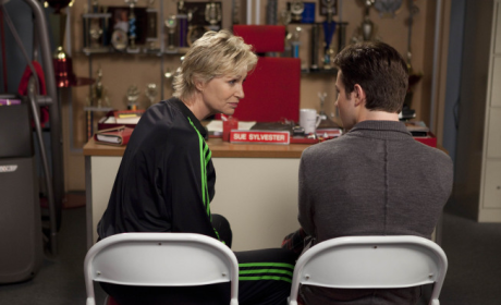 Jane Lynch on Glee Super Bowl Episode: Major Hissy Fit to Come!