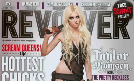 Taylor Momsen Revolver Cover