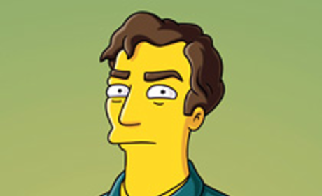 Hugh Laurie on The Simpsons: First Look