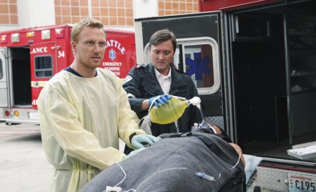 Hunt at the Ambulance