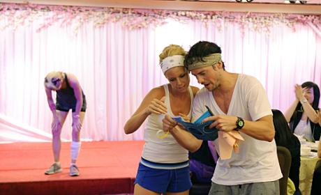 Jill and Thomas Read Their Clue