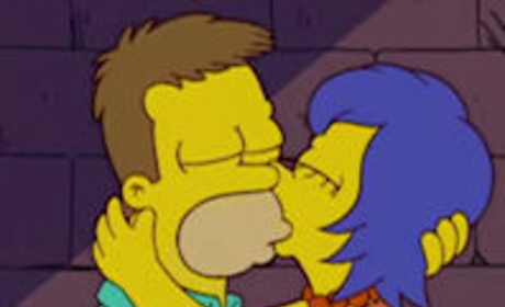 Vintage Homer and Marge