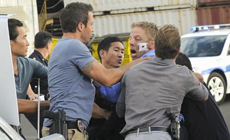 Greg Germann on Hawaii Five-O