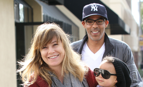 Spotted: Ellen Pompeo and Family!