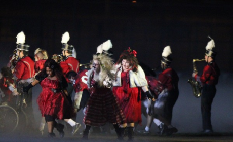 Glee Super Bowl Pics: Totally Thrilling!