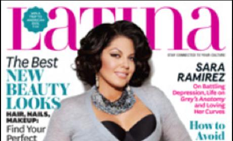 Sara Ramirez Latina Cover