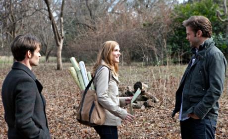 Elijah, Jenna and Alaric