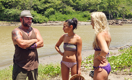 Russell Talks to Stephanie and Krista