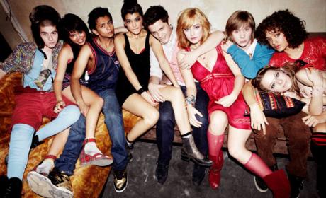 Skins Cast Photo