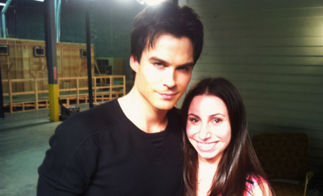 The Vampire Diaries Set Visit: A Report