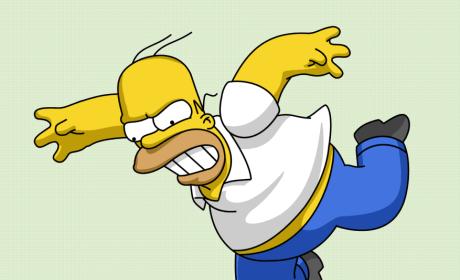 Pissed Off Homer