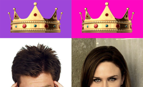 Behold Your King and Queen of the Hot Nerds!