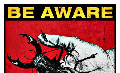 Trio of Terra Nova Posters: Be Aware!