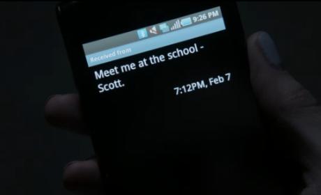 Scott Text Message