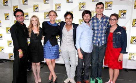 The Big Bang Theory Cast at Comic-Con