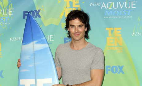 Teen Choice Award Winners: Gossip Girl, The Vampire Diaries and Glee