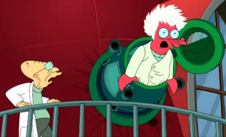 Professor and Dr. Zoidberg