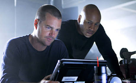 Chris and LL as G and Sam