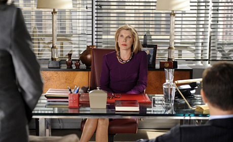"Christine Baranski Teases ""Crisis"" to Come on The Good Wife"