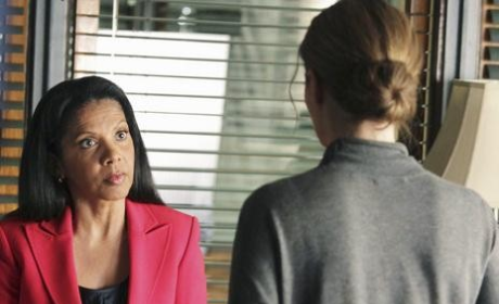 Penny Johnson Jerald on Castle