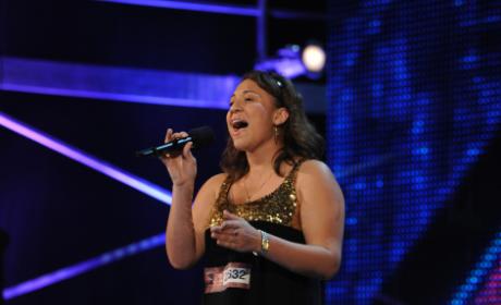 Melanie Amaro on The X Factor
