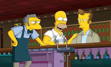Kiefer Sutherland on The Simpsons