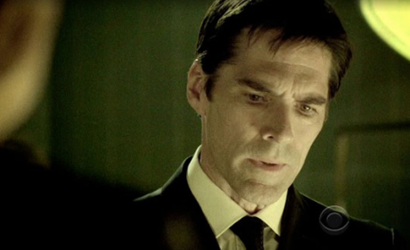Close Up of Hotch