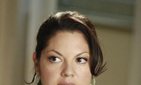 Unhappy Callie
